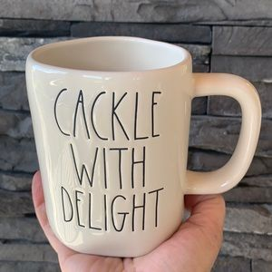 Rae Dunn Cackle With Delight double sided …